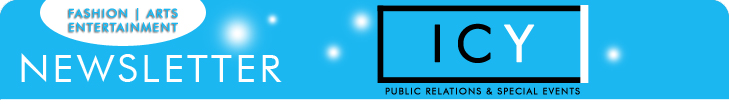ICY Public Relations ONLINE NEWSLETTER